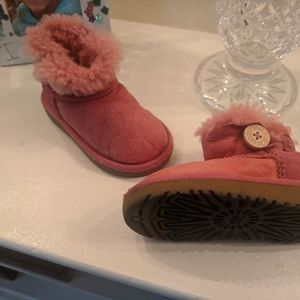 UGG Bailey Button Genuine Shearling Boot.